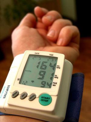 Blutdruck App Test