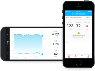 Withings Blutdruck App