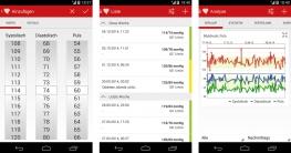 Blutdruck App für Android und iPhone: Messen und aufzeichnen